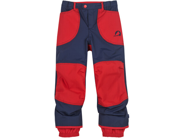 Finkid Tobi Rain Pants Boys navy/red
